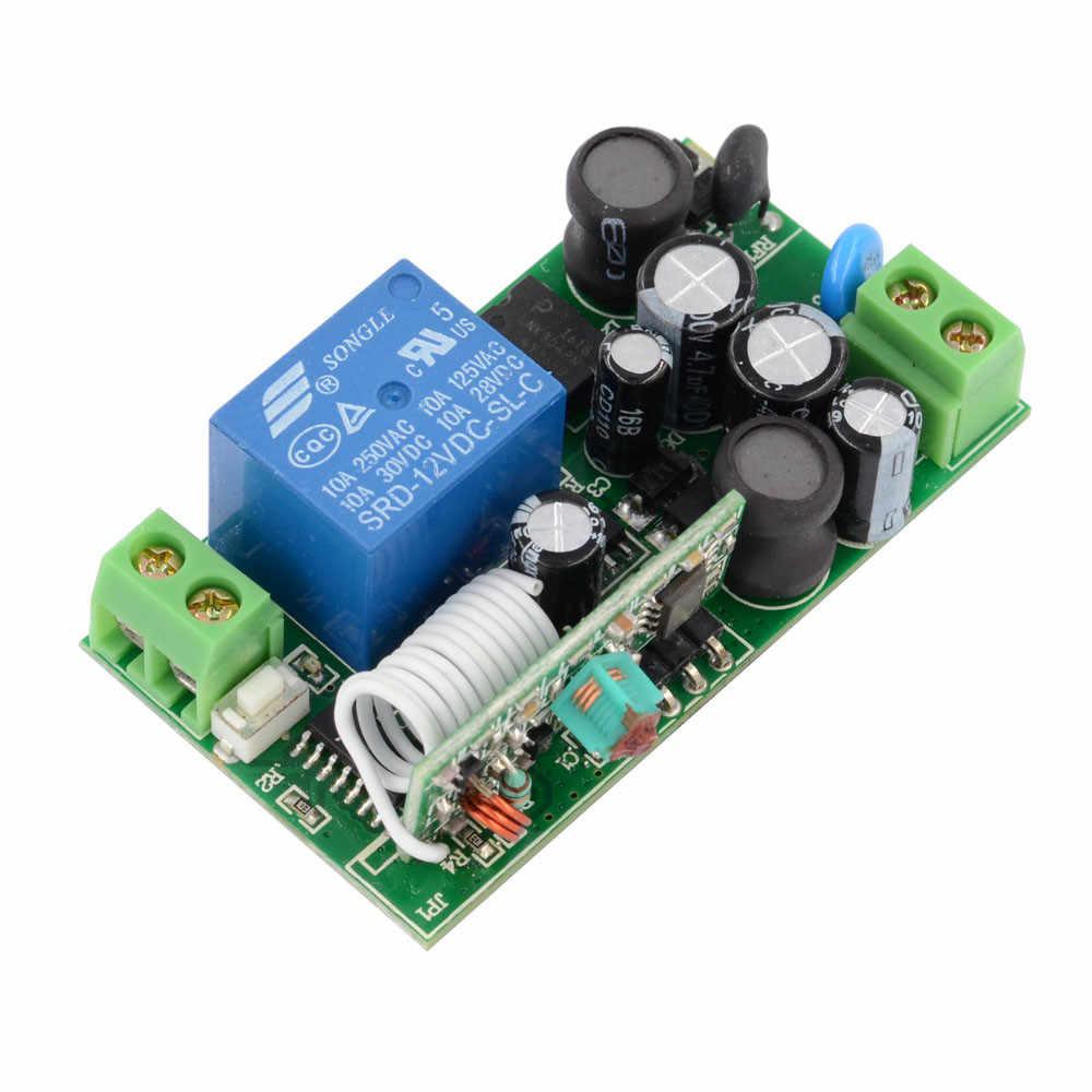 RF потолочный светильник светодиодный лампы дистанционный выключатель освещения белый Водонепроницаемый передатчик Наружное освещение Беспроводной переключатель AC110V 220 V 240 V 180 V
