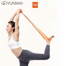 Youpin Mijia YUNMAI TPE joga odporność Mi zespoły pas do ćwiczeń wysokiej elastyczności zespół przyjazny dla skóry sprzęt do ćwiczeń treningowych