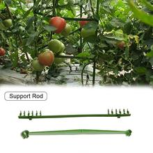Expandable Trellis Connectors Connecting Rod Stand Gardening Bag Plastic Tube Cucumber Tomato Climbing Vine Support Rod Pillar S
