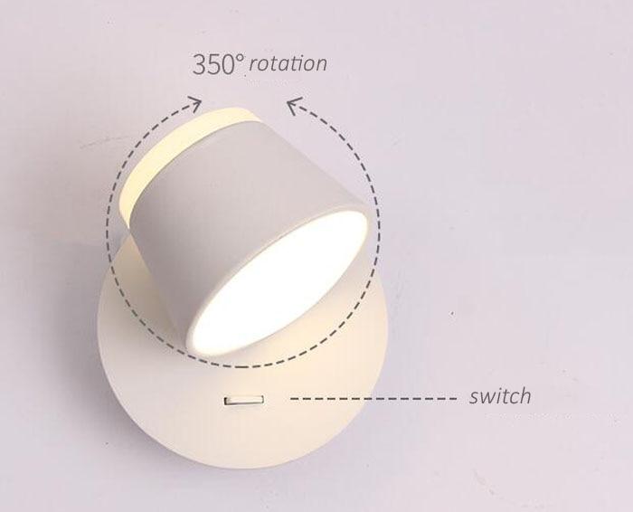 Led Leeslamp Slaapkamer : Nordic moderne eenvoudige slaapkamer bed led leeslamp wandlamp met