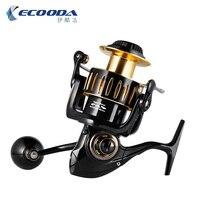 Ecooda рыцарь вал металлическая Рыболовная катушка спиннинговое колесо лодка рыболовное колесо KS12000 Рыбалка весит 25 кг
