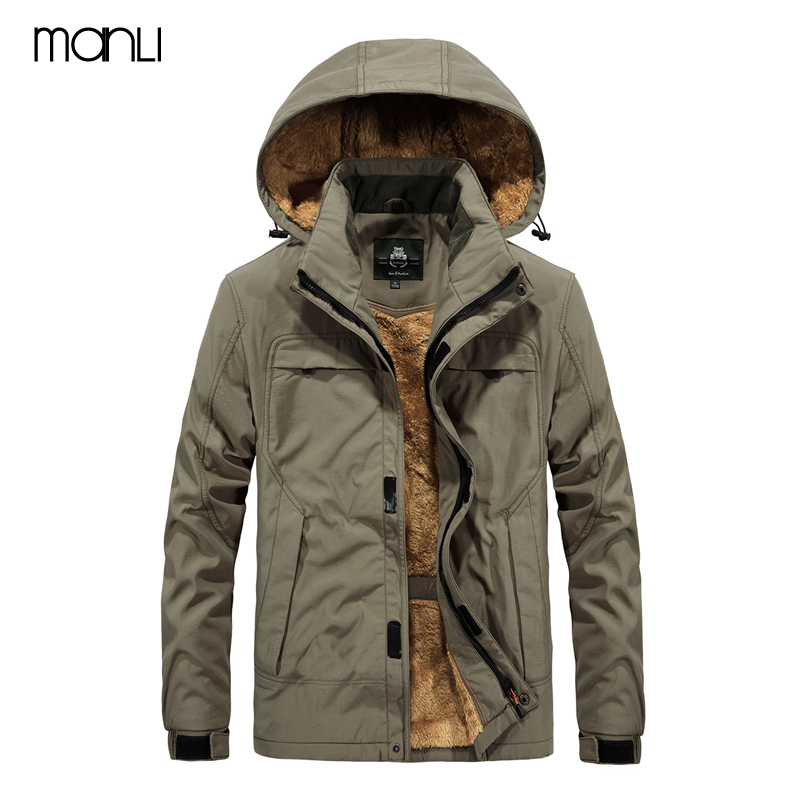 2018 Men's Winter Inner Fleece Waterproof Jacket Outdoor Men Plus Thick Warm Coats Men Hooded Coat Jacket Size 5XL Male Clothing pioneer camp new arrival long thick parks men brand clothing warm winter men winter jacket quality hooded winter coat amf705292