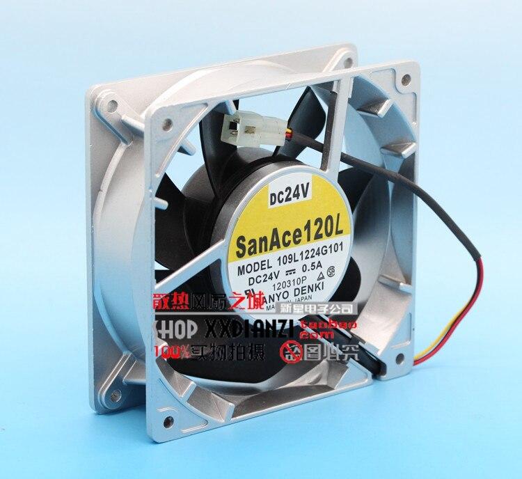 ФОТО New 109L1224G101 24V 0.5A 12CM 12038 inverter cooling fan