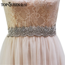 TOPQUEEN AS09 Royal Medal Craft Bride Evening Party Gown Dresses Accessories Wedding Sashes Belt/Waistband Bridal Belts Sashes