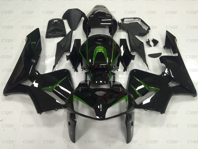 CBR 600 RR 2005 - 2006 Full Body Kits CBR 600 RR 2006 Bodywork CBR 600 RR 06 glossy Black Green FairingsCBR 600 RR 2005 - 2006 Full Body Kits CBR 600 RR 2006 Bodywork CBR 600 RR 06 glossy Black Green Fairings