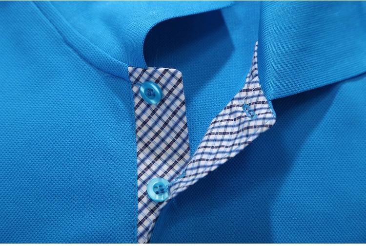 Poletne poletne moške poletje 2019, moške polo majice s kratkimi - Moška oblačila - Fotografija 4