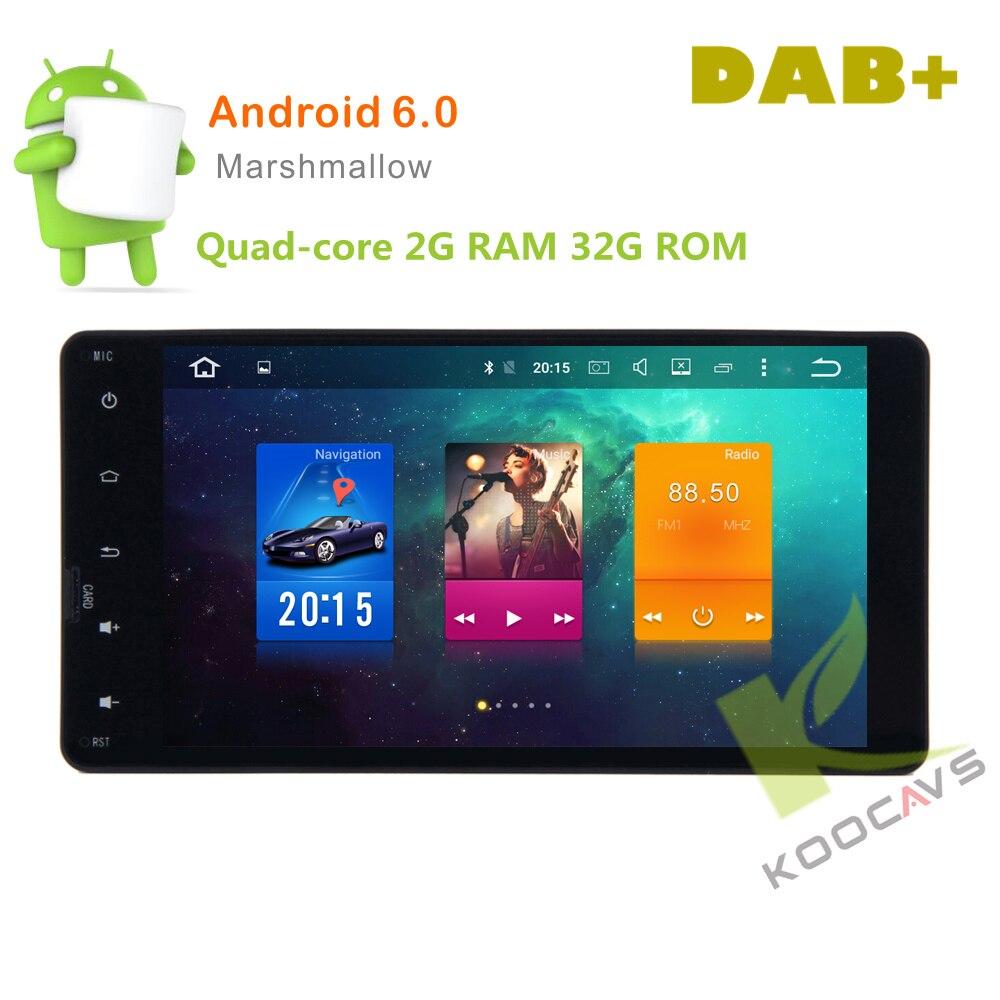 7 pouce 8 Core Android 6.0 Voiture GPS Radio Lecteur Pour Mitsubishi OUTLANDER LANCER-X ASX 2014 2015 Stéréo Auto Radio Audio Tête unité