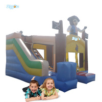 PVC Inflatable Bouncer Inflatable Animal Bouncer Cartoon Image Inflatable Trampoline