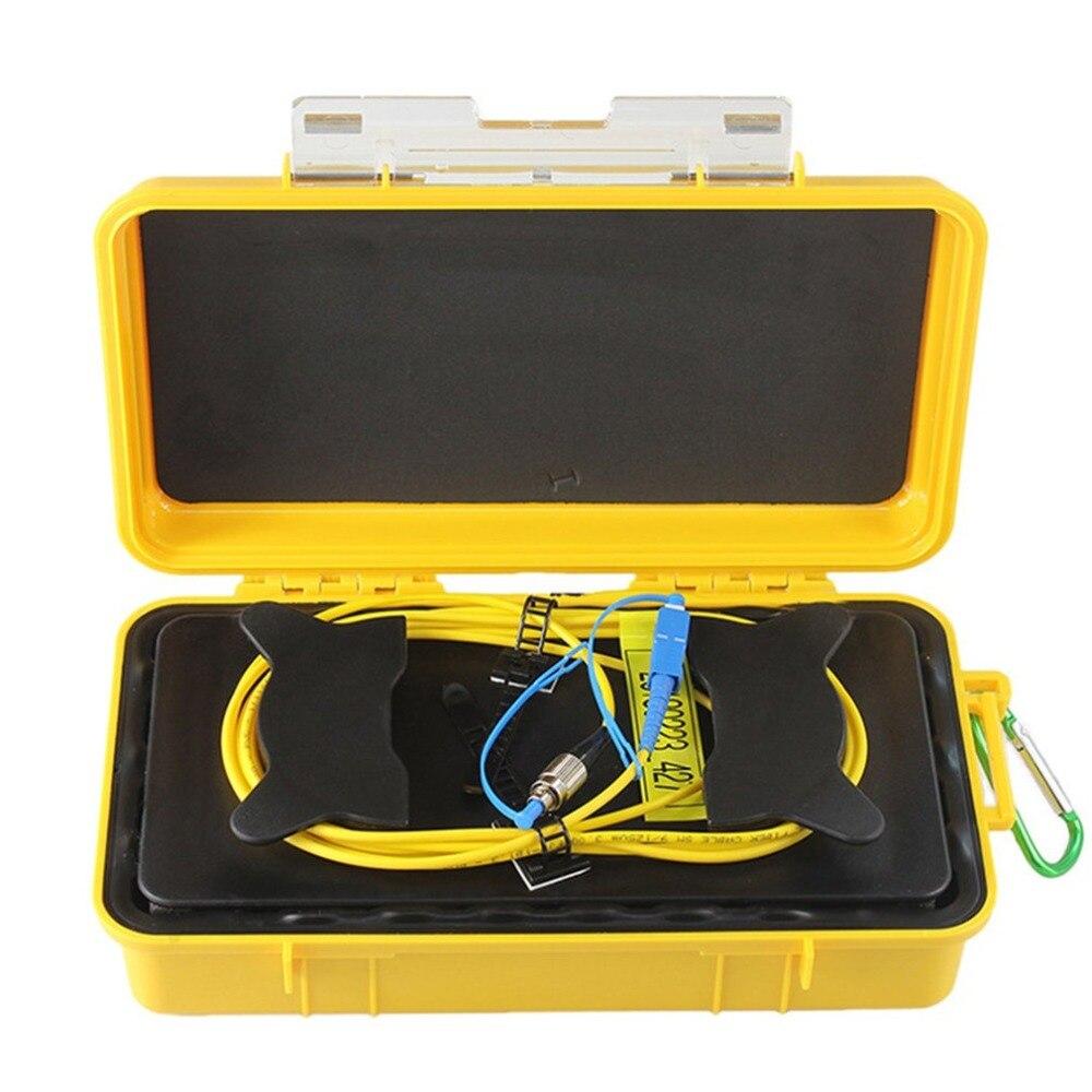 FC UPC/SC UPC Профессиональный одиночный режим 2000 м OTDR пусковой кабель коробка кольцо с плетением OTDR Запуск волоконно оптический кабель