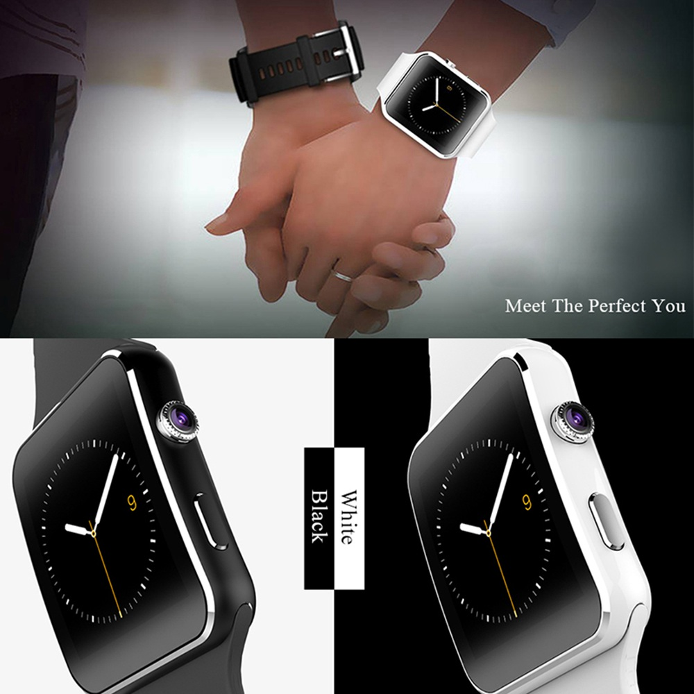 X6 Smart Watch Support SIM TF Card h Camera Smartwatch Bluetooth Dial/with Camera Touch Screen For iPhone Xiaomi Android IOS 7
