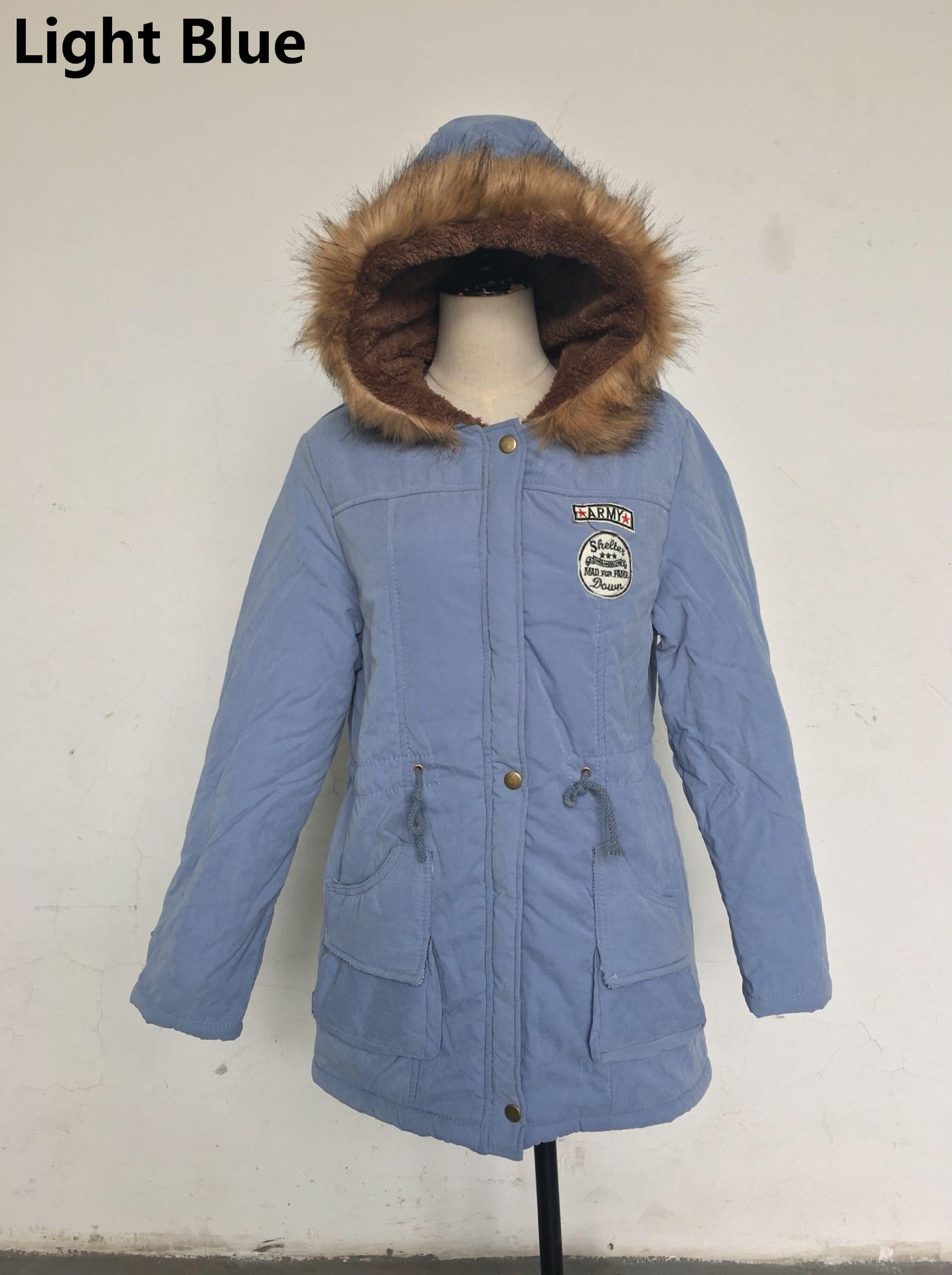 HTB1PdqKoStYBeNjSspaq6yOOFXae Women Parka Fashion Autumn Winter Warm Jackets Women Fur Collar Coats Long Parkas Hoodies Office Lady Cotton Plus Size