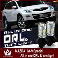 Night Lord For Mazda CX-9 LED turn light 20smd DRL& Front Turn Signals light  all in one for Mazda CX-9