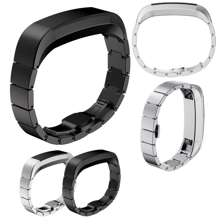 Good Sale Stainless Steel Watch Band Wrist strap For Fitbit Alta Smart Watch Jul 12