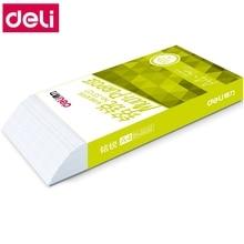 500 листов/коробка оптом Deli A4 многоцелевая бумага копировальная бумага для печати 70 г 80 г серия Эгейское море
