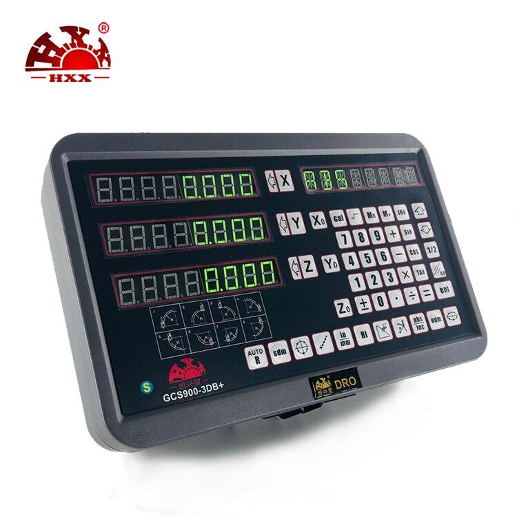 DRO цифровой дисплей комплект 3 оси считывания с цифровой линейная шкала используется для токарные станки фрезерные расточные станки
