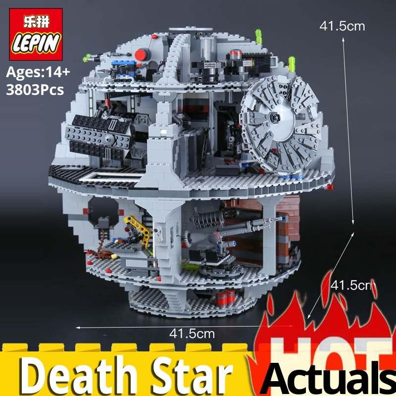 Лепин звезды План серии 05035 Звезда смерти набор строительных блоков Кирпичи игрушки модель Legoinglys войны 10188 развивающие забавная игрушка в п