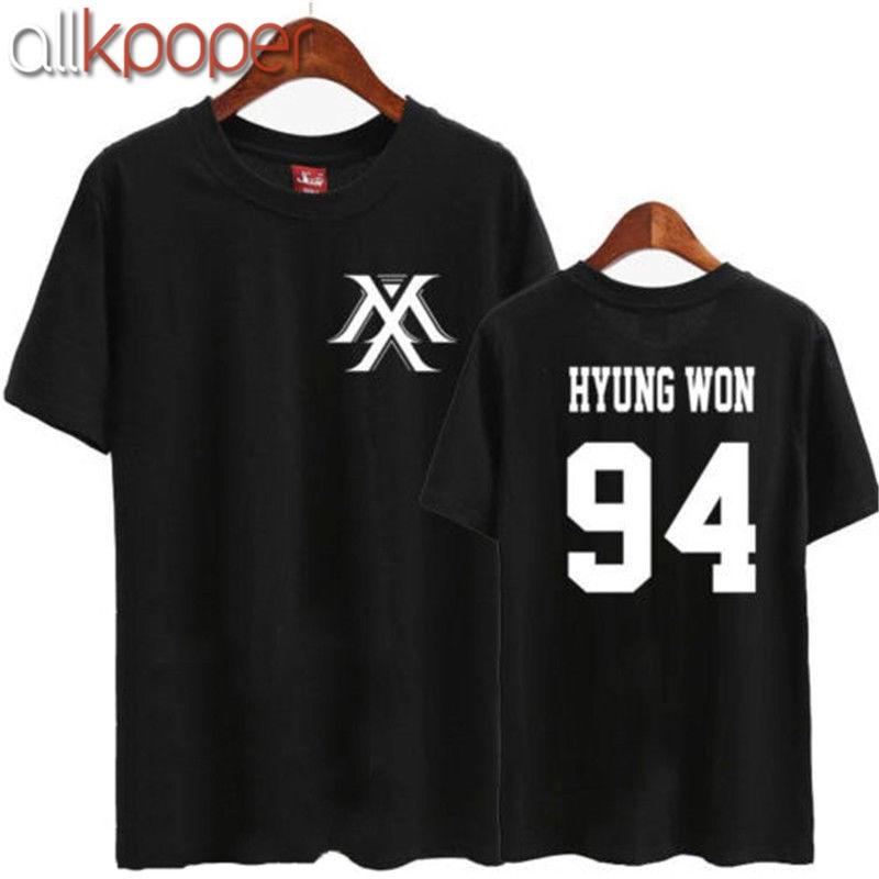 ALLKPOPER Kpop MONSTA X In Style T-shirt MINHYUK  TEE Unisex Cotton IM KIHYUN WONHO