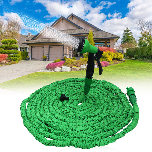 25 100 ft tall top expandable garden hose pipe optional magic flexible hose with spray - Best Expandable Garden Hose