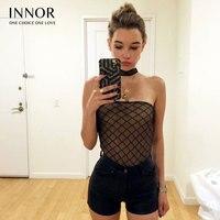 Black Lace Bodysuit Women Sexy Bodysuits Mesh Bodycon Jumpsuit 2017 Fashion Body