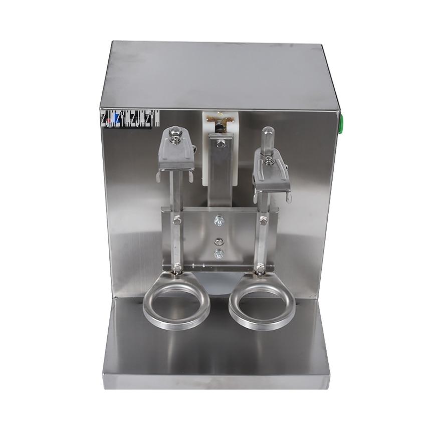 Doble marco Auto burbuja té coctelera leche té máquina Shaker ...
