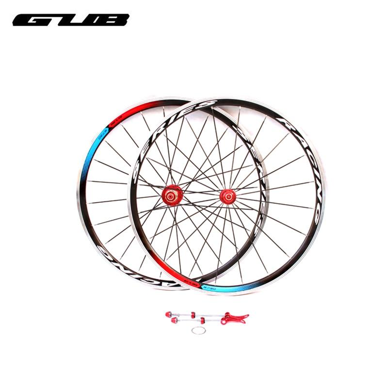 2pcs Lot GUB R730 Bicycle Wheel Group 20 24H Super Light Aluminum Alloy Ring Knives