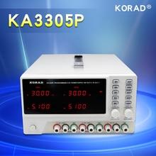 KORAD KA3305P - Programmable Precision Variable Adjustable 30V, 5A DC  Triple Linear Power Supply Digital Regulated Lab Grade