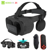 BOBOVR Z5 VR Virtual Reality Glasses 3D Android Cardboard For Smartphones Google Cardboard With Remmote Control