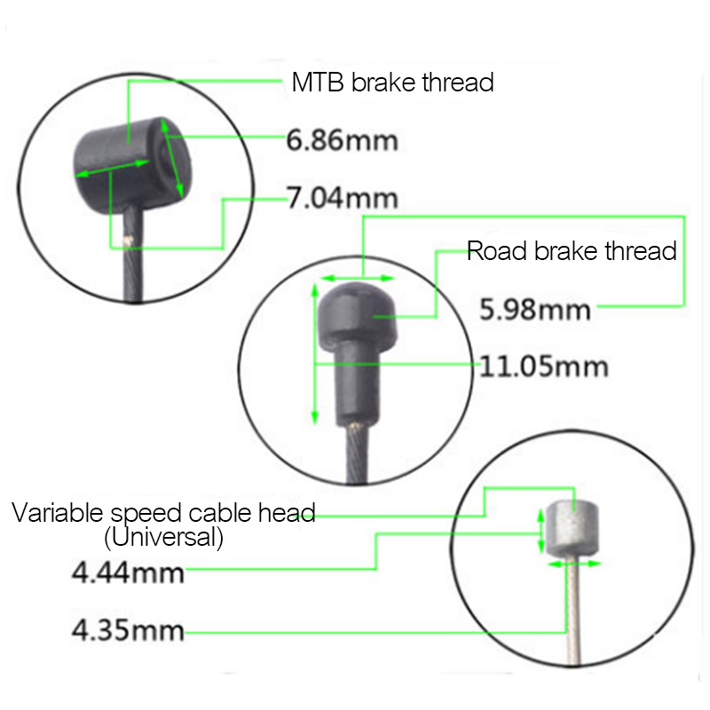 Stainless Mountain Road Bicycle Brake Wire Core Wire Core Galvanize