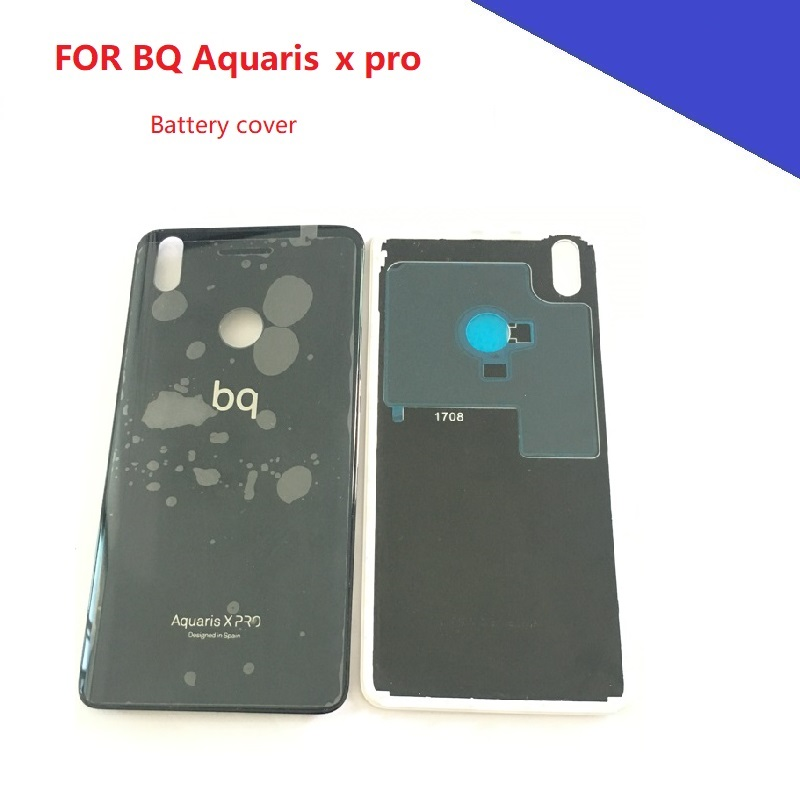 Battery Cover Back Housing Case For BQ Aquaris X PRO Back Frame Mobile Phone Repalcement Arts