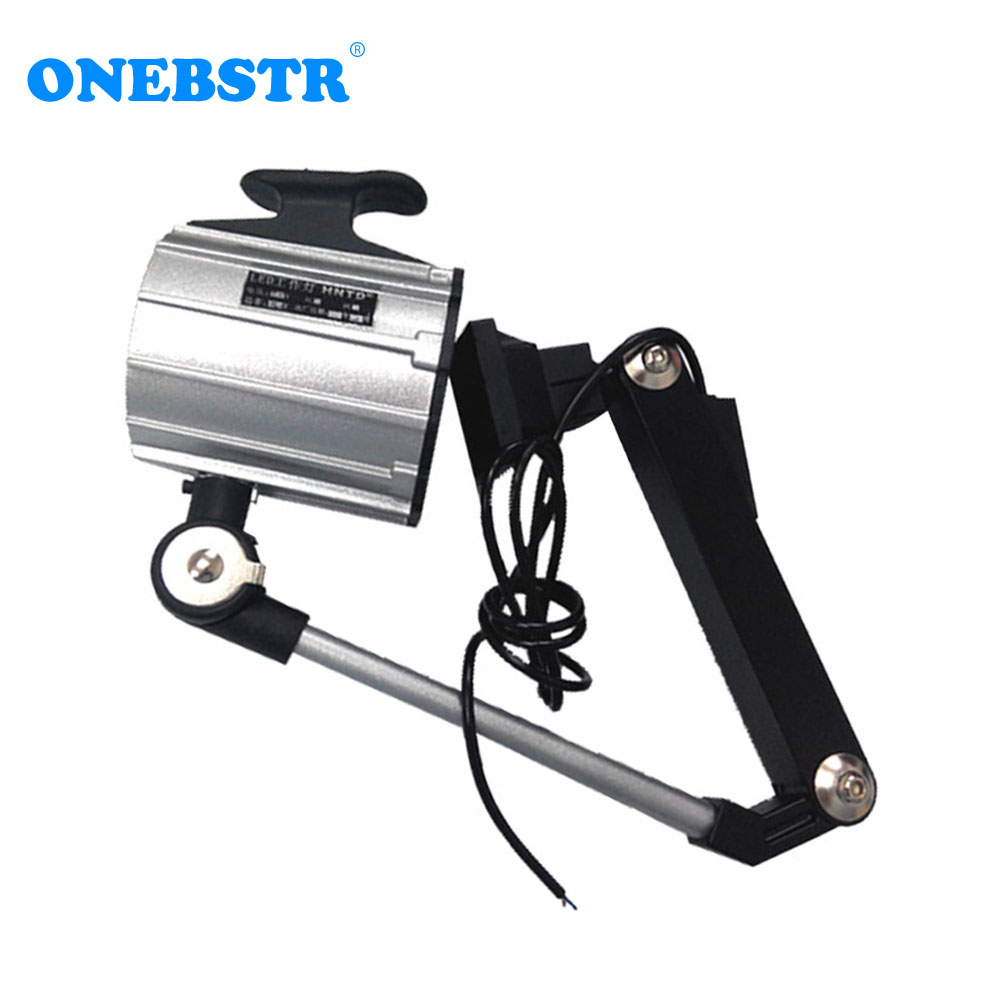 HNTD 12W TD04 24V/36V/110V/220V LED Spotlights Long Arm Folding lamp Work Light Waterproof IP65 CNC Machine Tools Lighting short arm machine tool lamp work lamp 24v 12v 36v 220v 50w halogen lamp