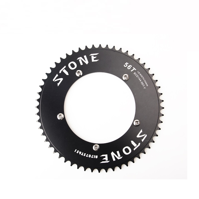 """Bicycle 1//8/"""" chain Fixie Fixed Gear Chainring BCD144 track bike  single speed"""