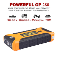 JKCOVER 12000mAh High Quality Mini Car Jump Starter 12V Car Stlying Starting Device 600A Charger Car