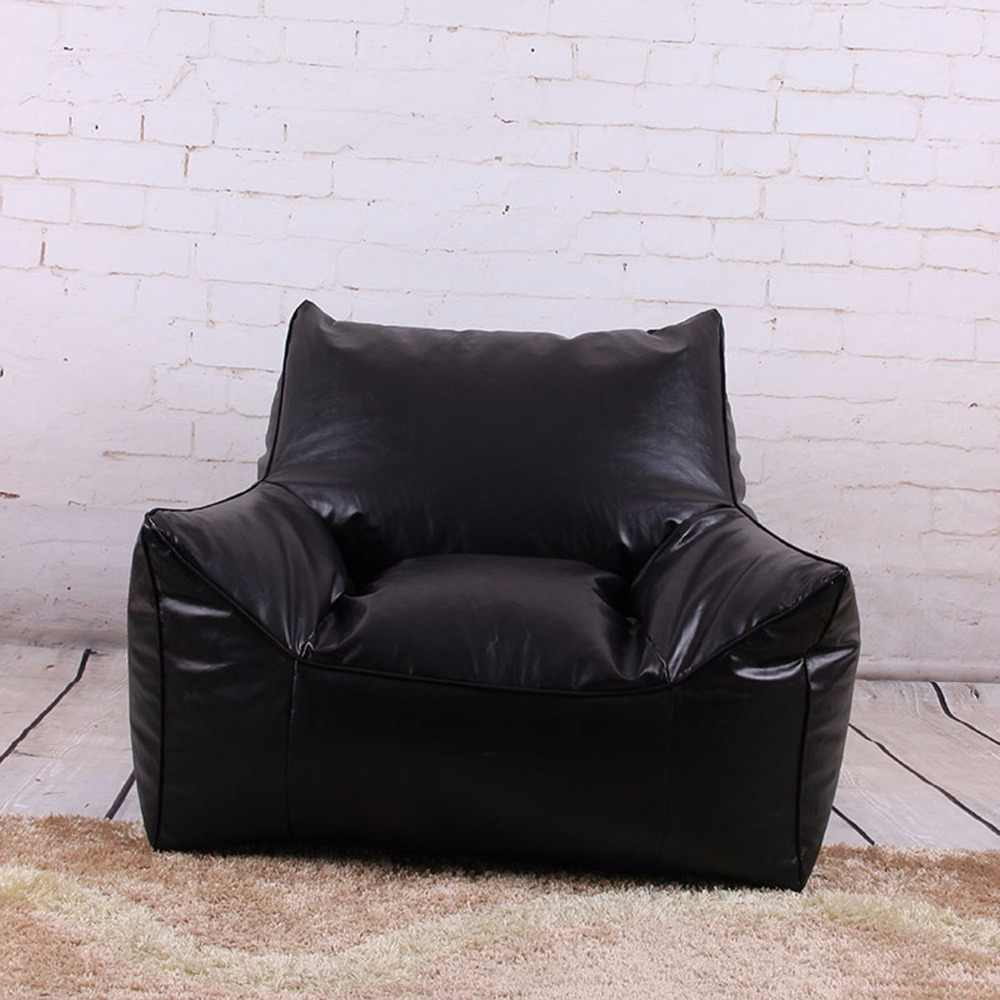 Assento mobília da sala de estar Sofá do Saco de feijão Espreguiçadeira Cadeiras Sem Enchimento Pufes zac Levmoon Beanbag cadeira preguiçosa Cadeira Shell