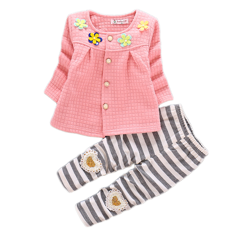 Toddler Girls Clothing Sets 2018Autumn Winter Children Girl Floral Clothes T-shirt+Pants Christmas Outfits Kids Girls Sport Suit 3pcs toddler baby girls children clothing sets kids girl o neck lace tops long sleeve t shirt floral pants clothes outfit set