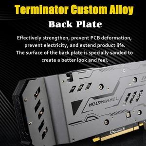Image 4 - MAXSUN graphics card GTX 1660 Terminator 6G 192bit NVIDIA GDDR5 8000MHz 1530 1785MHz HDMI+DP+DVI desktop video card for gaming