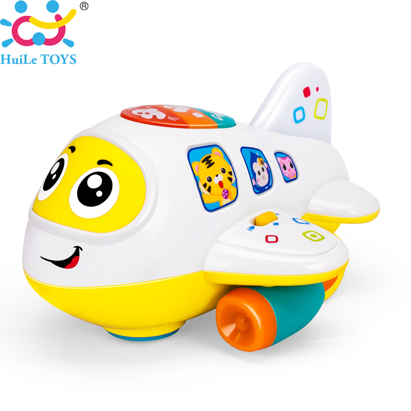 Electronic Learning Toys For Toddlers : Huile toys baby electronic airplane toy with