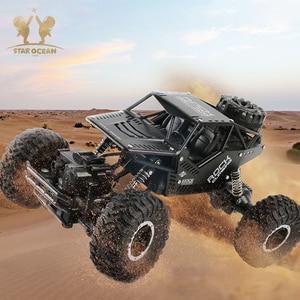 Image 5 - Voiture de conduite télécommandée pour véhicule tout terrain 2.4G 4C dérive roche chenille voiture RC boue/roche/pierre de montagne conduite en plein air