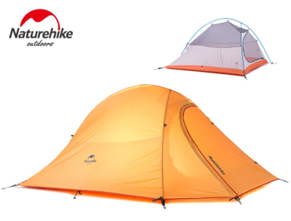 NH light weight 3 person 210T aluminum pole tourist beach camping tent