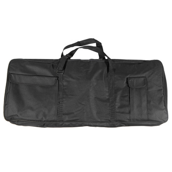 "61-Key Keyboard Electric Piano Organ Gig Bag Soft Case Dual Zipper 39.3"" * 15.7"" 600D Cloth PE Foam Padded"