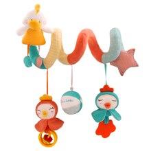 Espiral-sonajero Pato para Cuna o  Silla de Paseo – Juguetes para Bebés