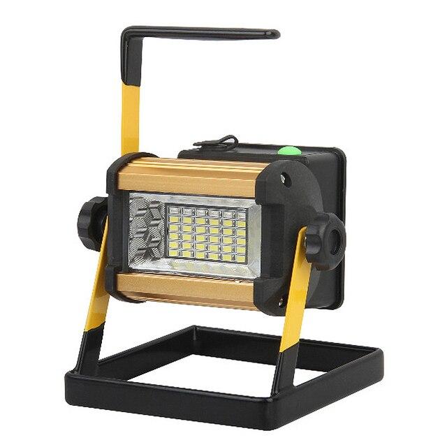 portátil Barato recargable 36 Led 50w Reflector lámpara WD2I9YEH