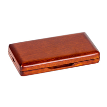 Oboe Reeds Case Maple Storage Box for 3 Pcs Reeds Amber Color Musical Parts Accessories