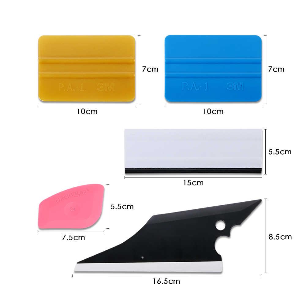5Pcs Auto Rakel Vinyl Film Wrap Werkzeuge Kits Fenster Tönungen Werkzeuge Schaber Fahrzeug Scheibenwischer Tool Set Auto Auto zubehör