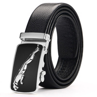 Belt Men Top Quality Genuine Luxury Leather Belts For Men Strap Male Metal Automatic Buckle 2018