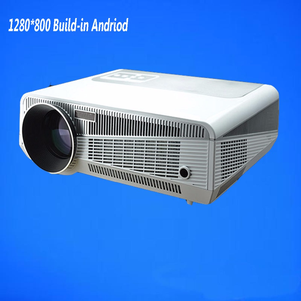 Led Projector 3500 Lumens Beamer 1280 800 Lcd Projector Tv: In Constructing Wireless Led From 4.2 HD Projector Lumens