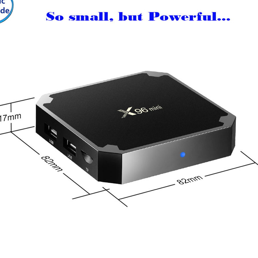 Network TV set top box player Android 7.1 4k HDR10 wifi Amlogic ARM HDMI smart box 3D 2g eMMC 16G H.265 keyboard set-top boxs