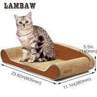 Cat Scratcher 23 6 Inch Cat Bed Sofa Lounge Cardboard Paper High Quality Cat Toy Scratching