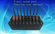 8 port modem pool Q24PLUS with FTP shipping free