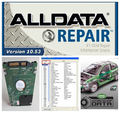 HOT!!! 2017 new arrive Auto Repair Software Alldata 10.53 + Mitchell 2015 + all data and Vivid Workshop 3 softwares in 1tb HDD
