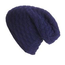 2016 Сгущает Шапочки мужские Зимние Hat Caps Skullies Bonnet Шляпы Мужчины Женщины Шапочка Теплый Багги Вязаная Шапка Головные Уборы Для женщины